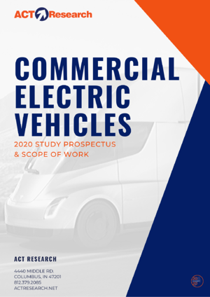 COMMERCIAL ELECTRIC VEHICLES STUDY PROSPECTUS