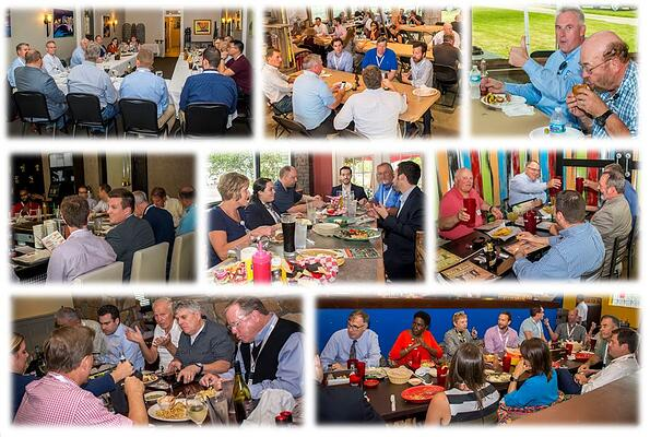 Discussion-Dinner-Collage